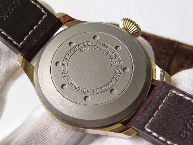 IW501005 Titanium Case Back