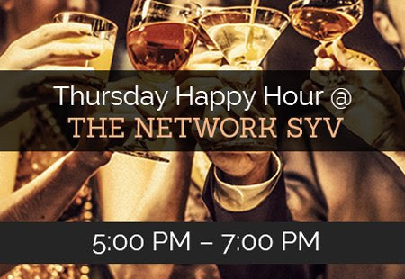 Thursday Happy Hour – June | The Network SYV