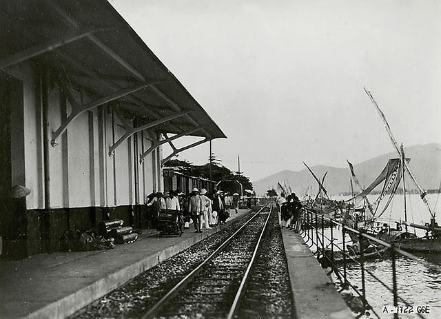 Đà Nẵng xưa - Ga Chợ Hàn - Gare de Tourane Marché