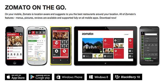 Zomato Apps