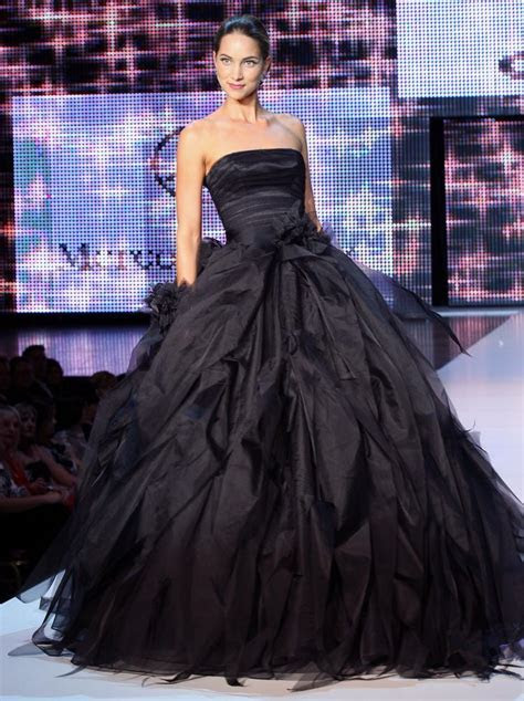 Extraordinary Black Wedding Dresses   ShePlanet