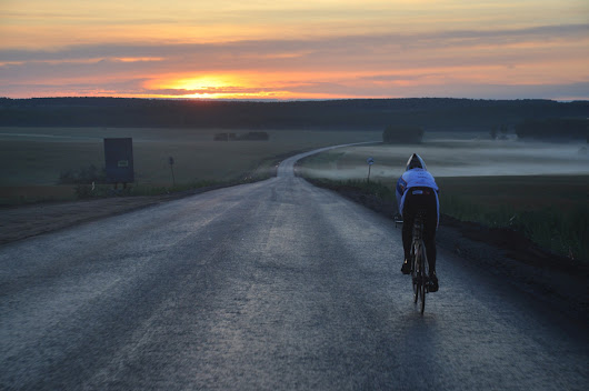 The world's toughest bike race: 9200km across Siberia