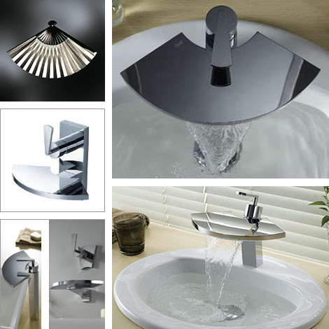 Unusual Bathroom Faucets by Fluid Faucets | Captivatist