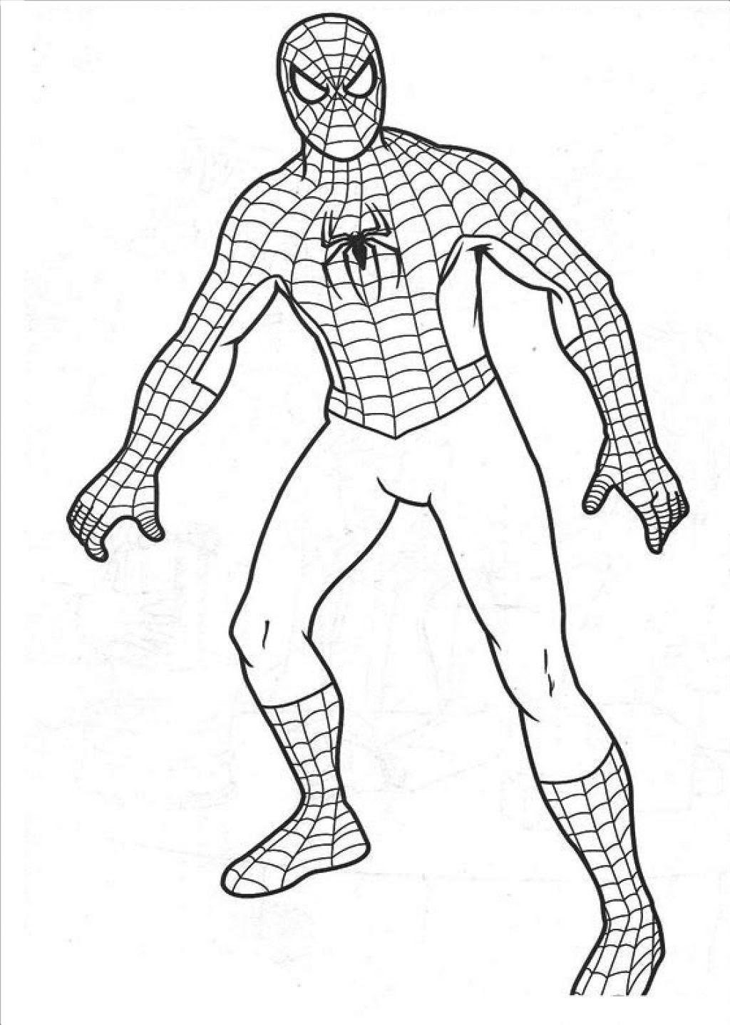 örümcek Adam 3 ücretsiz Boyama Resimleri