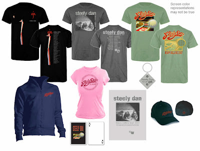 Steely Dan merchandise 2007
