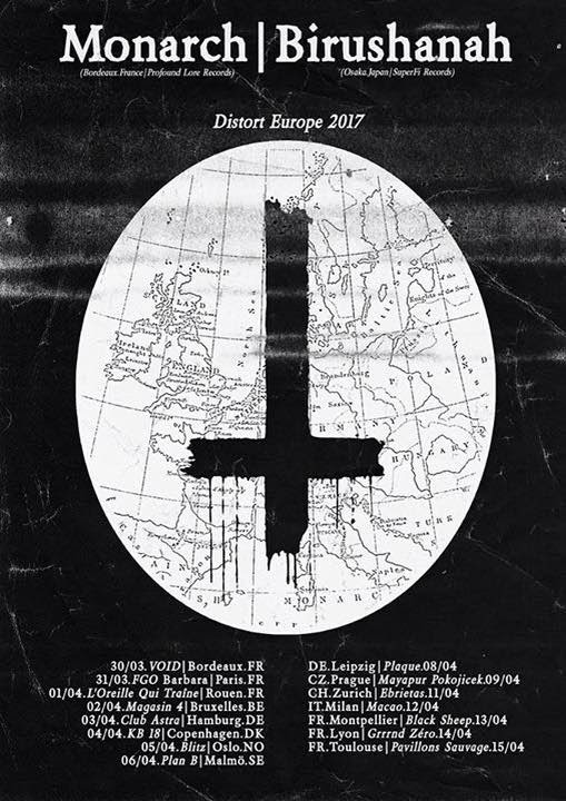 Monarch European Tour Poster
