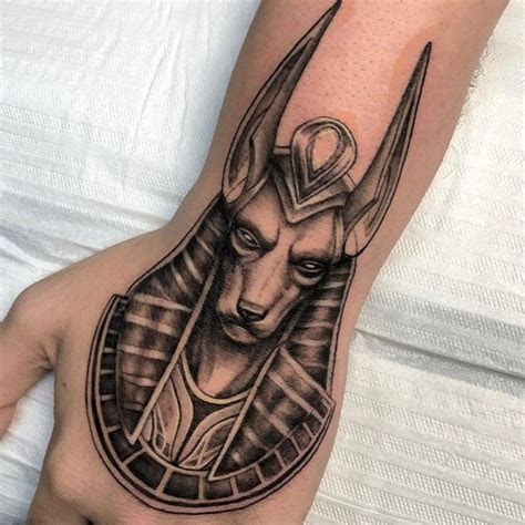 powerful anubis tattoo designs meaning tattoodo