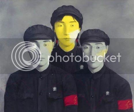 Zhang Xiaogang trois camarades Chine