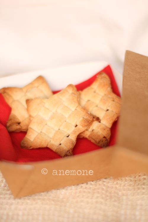 Biscotti a rete natalizi