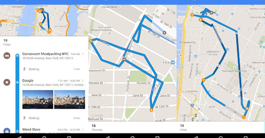 Google Maps now lets you retrace all of your past steps