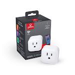 Globe Electric Wi-Fi Smart Plug, No Hub Required, White, 50114