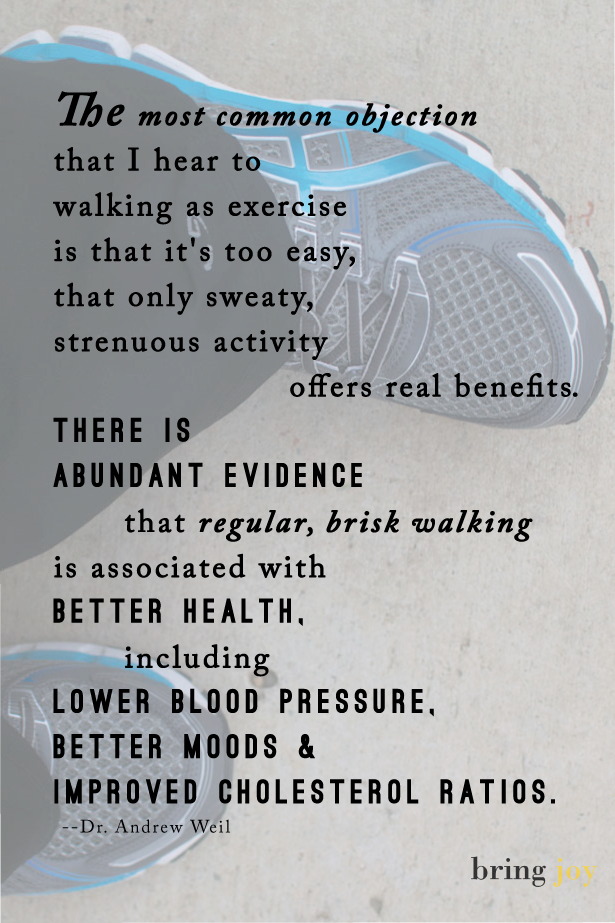 Is Walking Enough Exercise