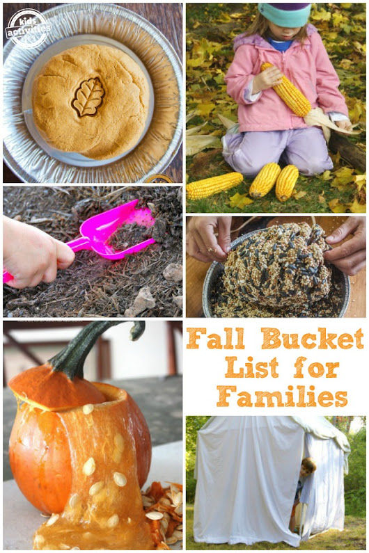50 ACTIVITIES FOR AUTUMN - Kids Activities
