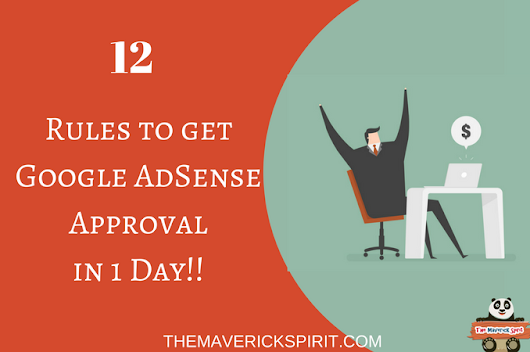 Google AdSense Account Approval Process For A New Blog [2017]
