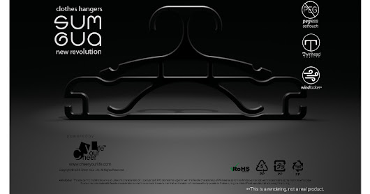 Clothes Hangers - SUM GUA - new revolution