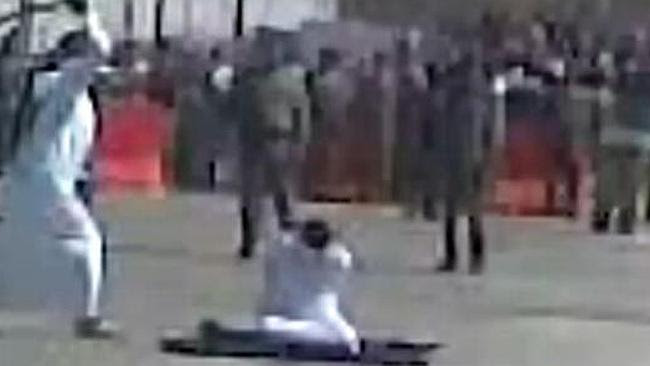 In Saudi Arabia death row inmates are beheaded and crucified. Picture: Amnesty Internatio