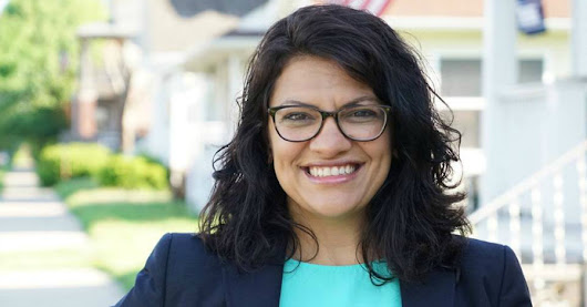 Democratic Socialist Rashida Tlaib Poised to Become First Palestinian-American Congresswoman
