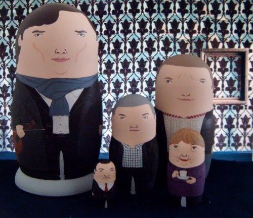 Sherlock Matryoshka Dolls