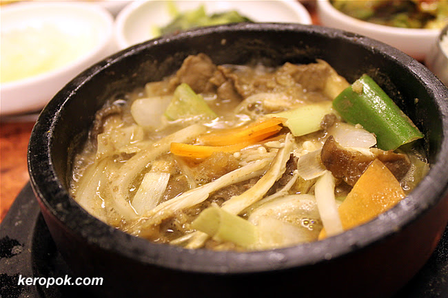 Beef Slices Soup