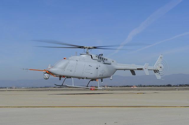 El segundo helicóptero no tripulado MQ-8C Fire Scout lleva a cabo su primer vuelo de prueba febrero 12 desde la Base Naval del Condado de Ventura en Point Mugu, California El primer avión completó su primer vuelo en octubre de 2013 y ha volado 66 horas al día. El MQ-8C actualización vehículo aéreo ofrecerá mayor resistencia, alcance y mayor capacidad de carga útil que el MQ-8B, que actualmente se despliega a bordo de USS Elrod (FFG 55) en el Mediterráneo.
