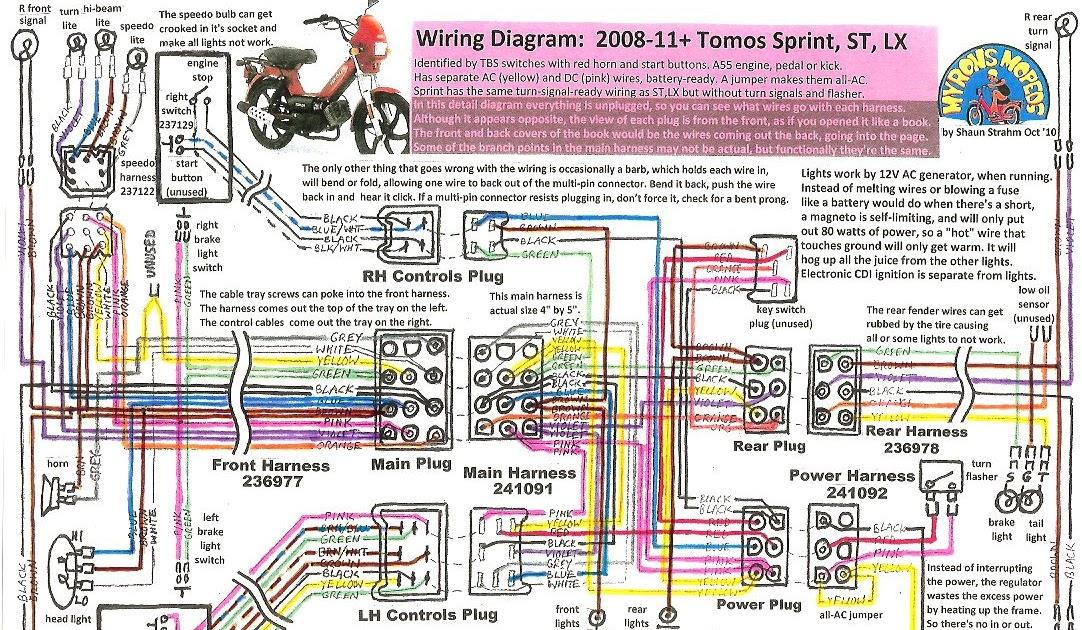 2009 Tomo Lx Wiring Diagram