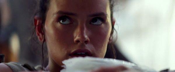 Rey is a scavenger on the planet Jakku...or IS she?