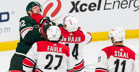 Hockey is weird and the Hurricanes 5-4 win over Wild proves it