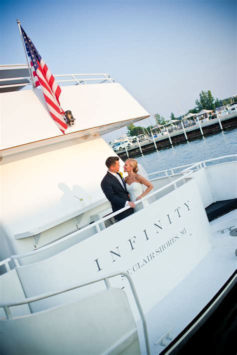 Have a unique wedding aboard The Infinity or Ovation Yacht