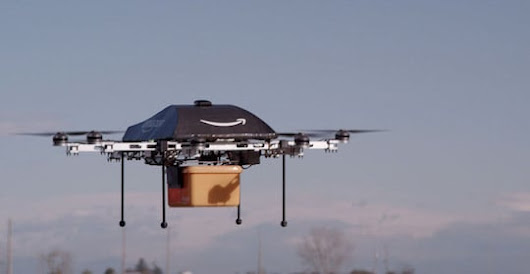 Amazon's delivery drones SHOT DOWN by new FAA rules