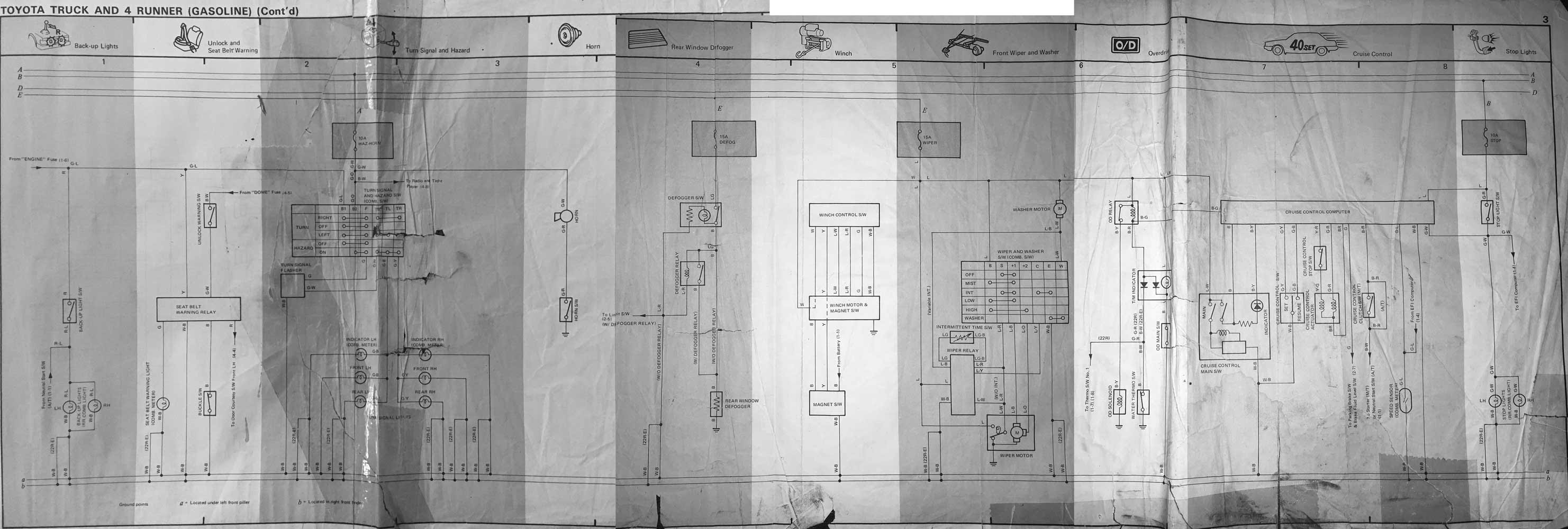 1985 Toyota Wiring Diagram Wiring Diagram Window B Window B Zaafran It