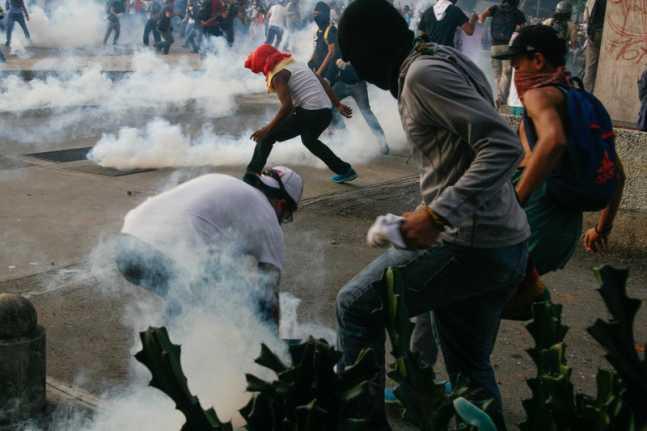 Protestas Foto de Sergio Alvarez
