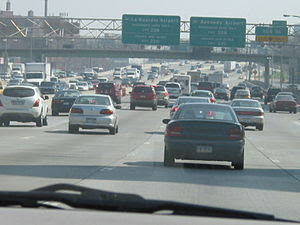 I-495 and how much traffic it faces.