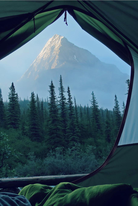disminucion:  Mt. Robson Tent View, Stephen Walasavage
