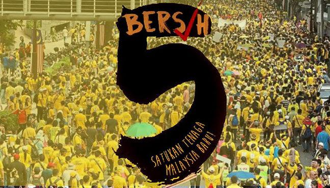 Image result for bersih 5