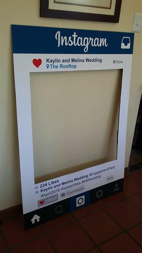 Melina and Kaylin Instagram Photo Booth Prop   Custom