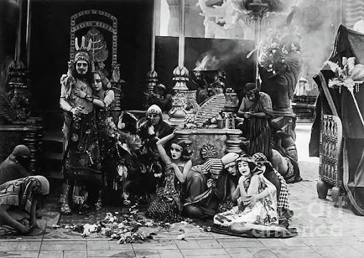 Intolerance - Babylon Silent Movie by Sad Hill - Bizarre Los Angeles Archive
