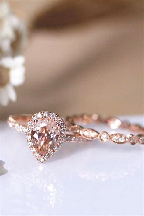 Best 25  Pink Engagement Rings ideas on Pinterest   Pink