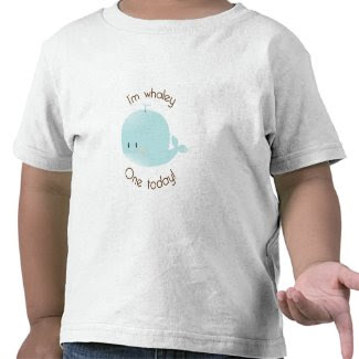 I'm Whaley One Today! Birthday T-Shirt shirt