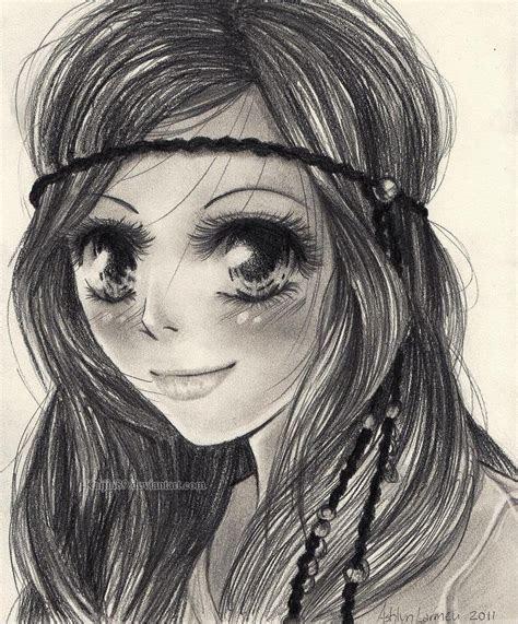 custom anime pencil drawing customized anime art portrait