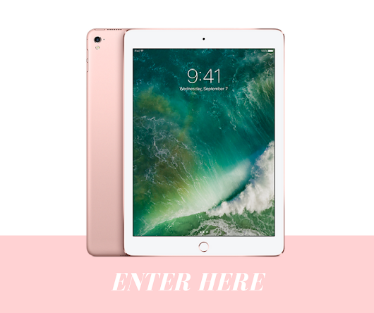 Enter here to WIN an iPad pro + free eBook downloads!