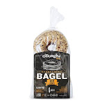 O'Dough Gluten Free Bagel Thins Everything 100 Calorie Bagels 10.58 Ounce [6 Packs]