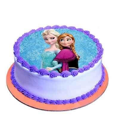 Buy/Send Cute Princess Chocolate Photo Cake Online in