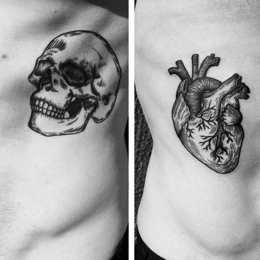 50 Life Death Tattoo Designs For Men Masculine Ink Ideas