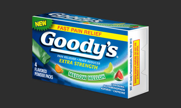 Goodys Pain Relief Medicine packaging 2 30+ Beautiful Examples of Medicine Packaging Designs For Inspiration