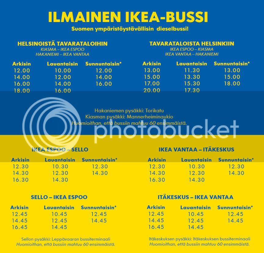 Ikea Bussit