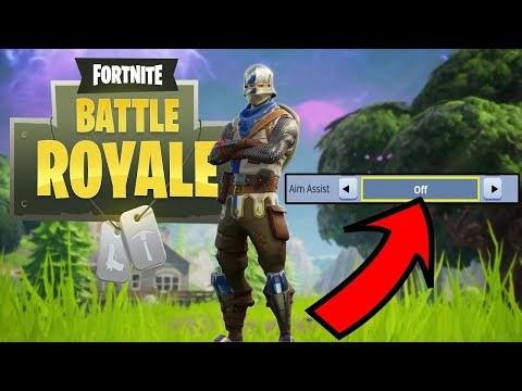 Fortnite Battle Royale Ps4 Aim Assist - Aimbot jpg