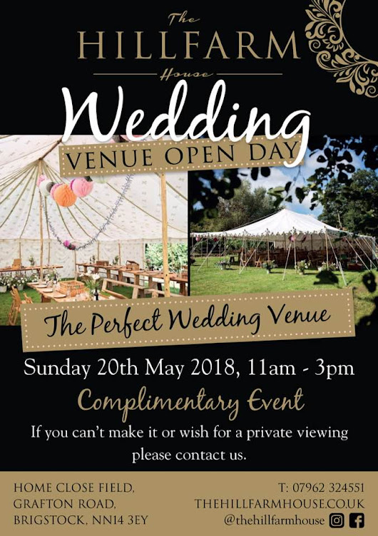 Wedding Venue Open Day in Brigstock | the Daily Grind
