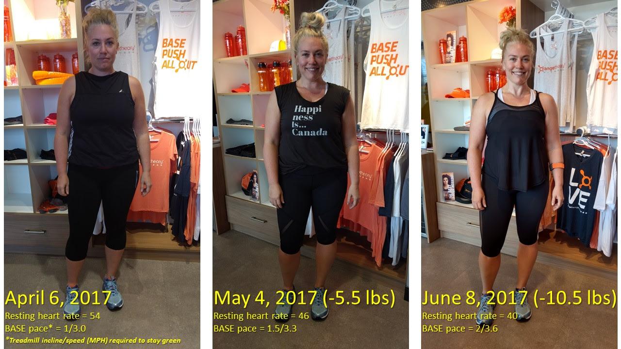 female body fat percentage loss