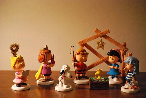 Peanuts Nativity by Smree