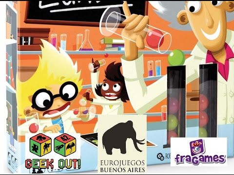 Dr Eureka (Fragames) demo y partida en encuentro Geek Out